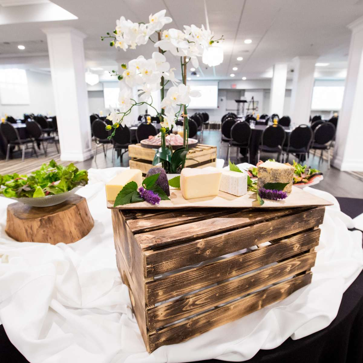 Sussex Ballroom - Buffet with Cheese Board & Salad